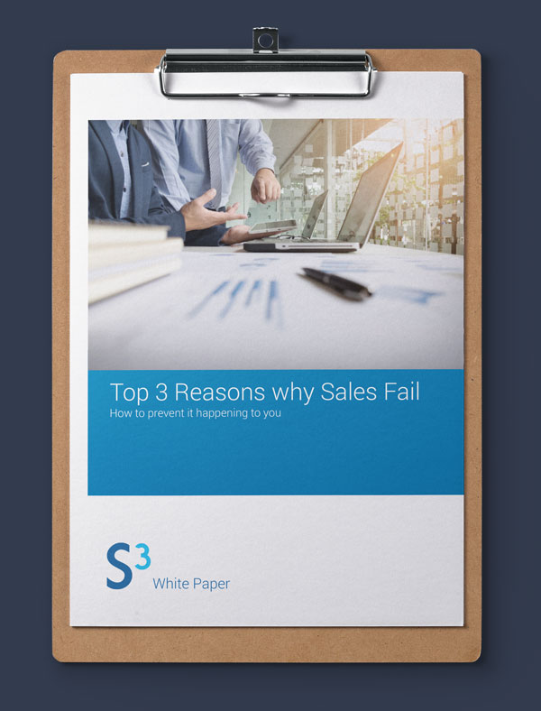 Why Sales Fail White Paper